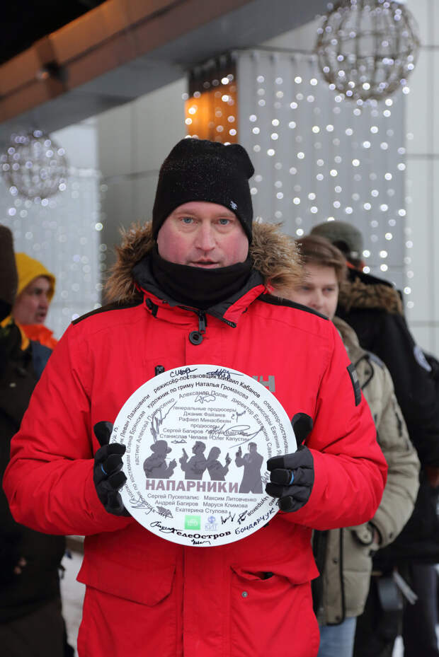 Сергей Пускепалис и Маруся Климова стали «Напарниками»