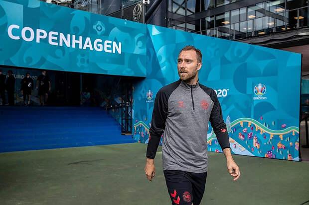 Датский футболист Эриксен опубликовал пост в Сети после госпитализации