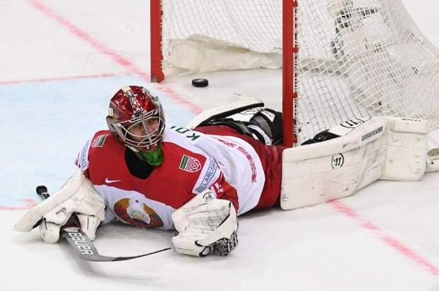 Сборная Белоруссии в овертайме уступила Чехии в матче ЧМ по хоккею