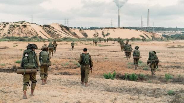 Наземное вторжение Израиля в сектор Газа отсутствует
