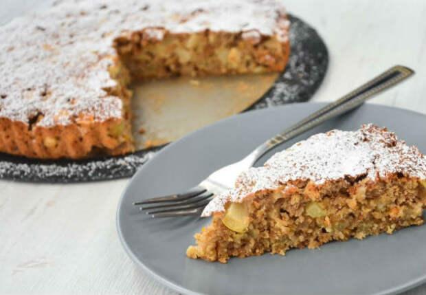 Пирог Много Яблок: овсянка раскрывает все вкусы