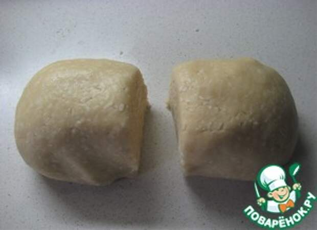 Постное кокосовое печенье с джемом