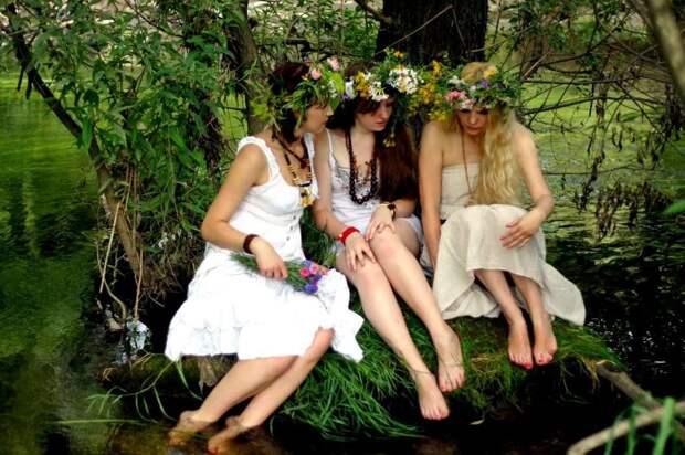 Славянские красивые девушки