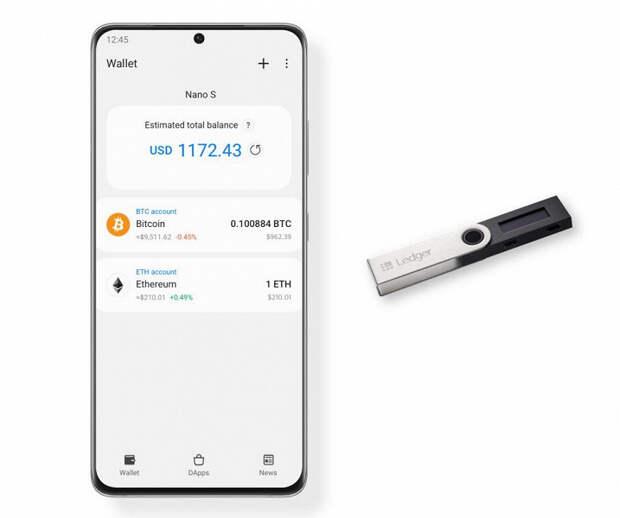 Samsung встроила в свои смартфоны поддержку аппаратных криптовалютных кошельков