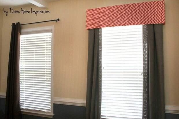 Способ быстро и дешево облагородить внешний вид штор