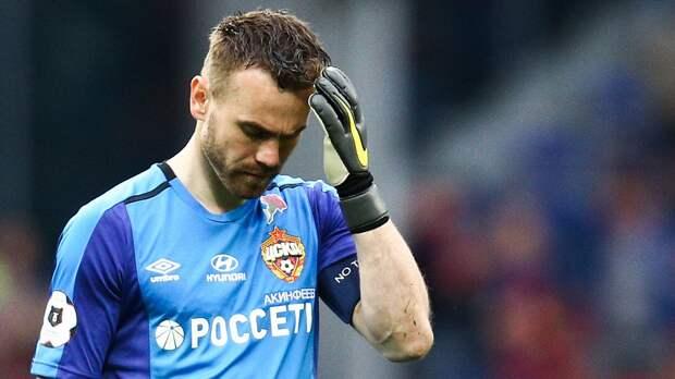 Акинфеев может завершить карьеру по окончании следующего сезона