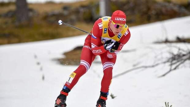 Александр Большунов с Урала стал первым на этапе Кубка мира по лыжным гонкам