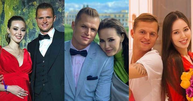 Футболист Дмитрий Тарасов и модель Анастасия Костенко ждут третьего малыша