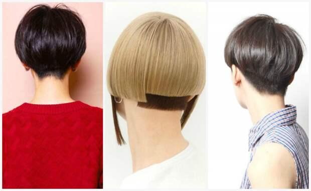 Стильная стрижка шапочка на короткие волосы