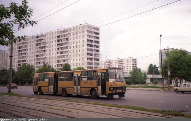 Фото дня: проезд Дежнёва в конце прошлого века