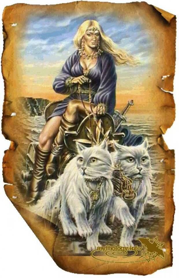 Скандинавская мифология | ФРЕЙЯ – БОГИНЯ ПОХОТИ И РАЗДОРА