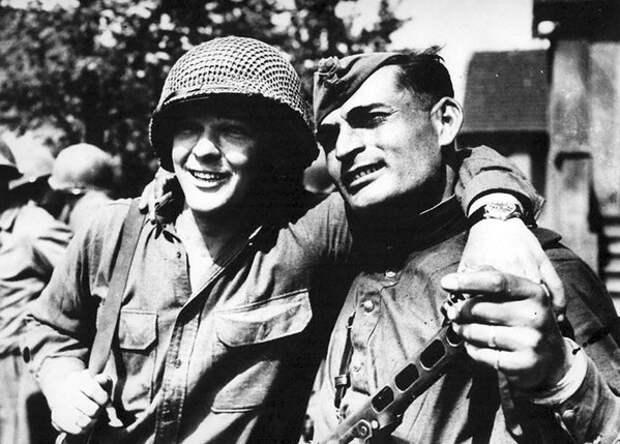 Когда русские сходились с американцами в рукопашную