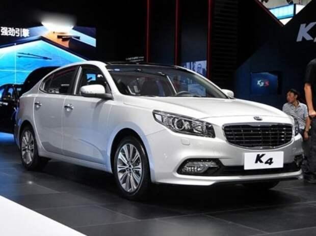 В Китай прибыл новый седан Kia K4