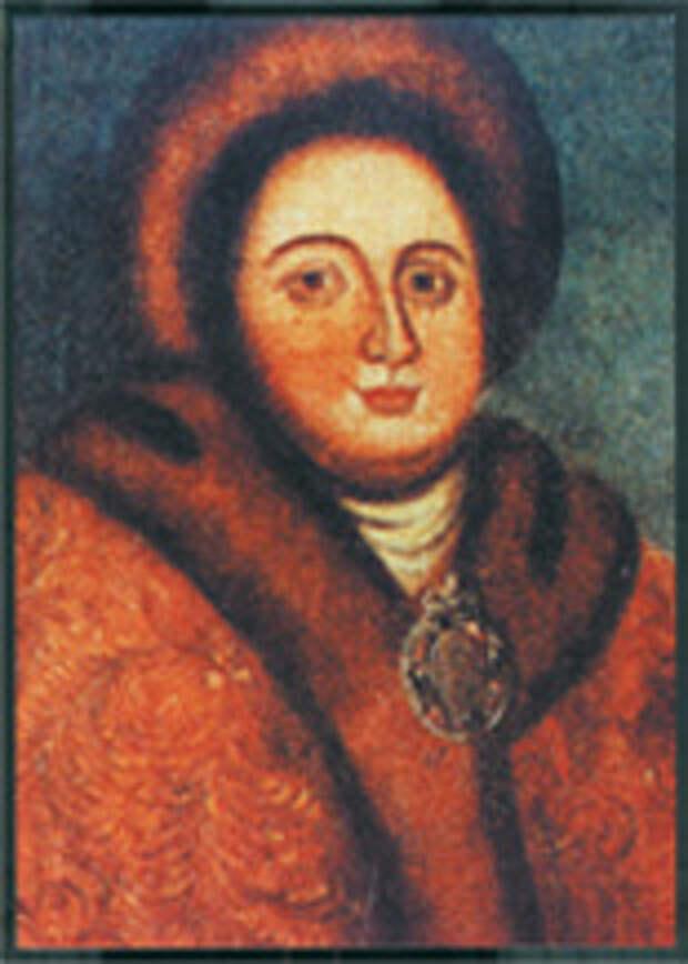 Неизвестный художник. Портрет Евдокии Лопухиной