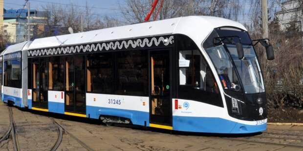 Трамвай №23 вышел «на работу»