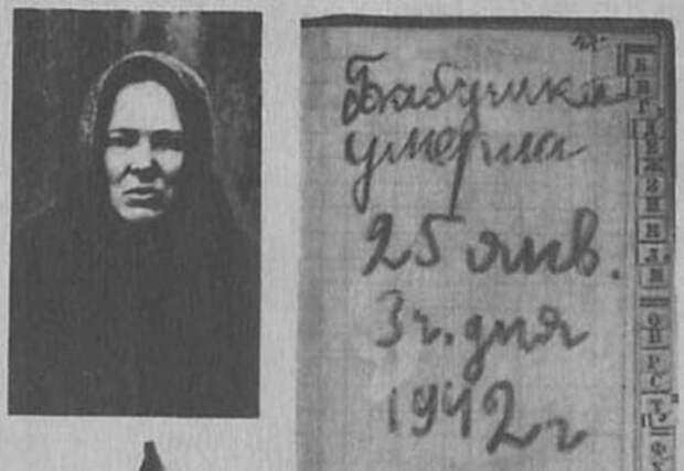 Блокадный дневник Тани Савичевой: самые страшные 9 страниц о войне