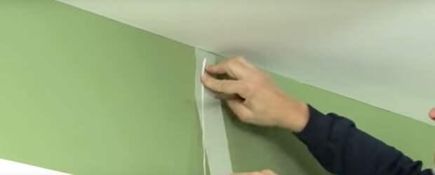 заделать трещину в стене