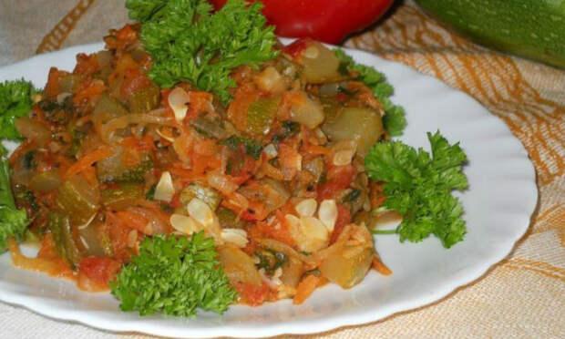 Кабачки по венгерскому рецепту