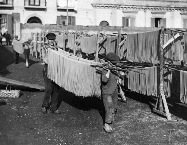 Как делали пасту в первой половине XXвека