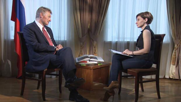 Дмитрий Песков о санкциях США, встрече Путина с Трампом и суверенном интернете