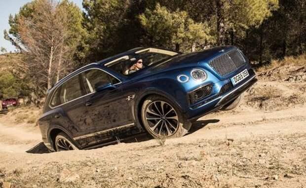 Bentley отзывает вседорожники Bentayga из-за некачественной сборки