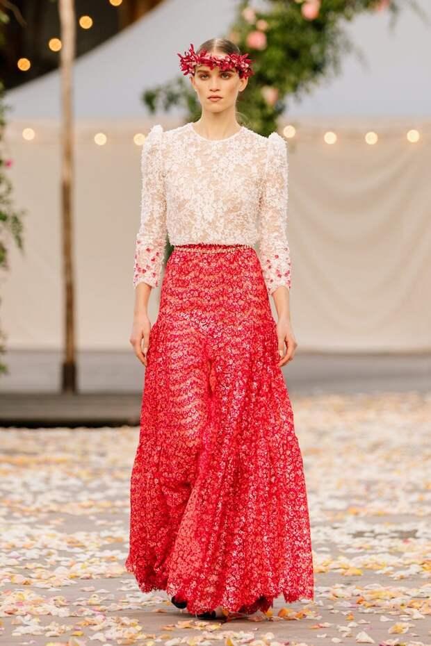 Chanel Haute Couture весна-лето 2021