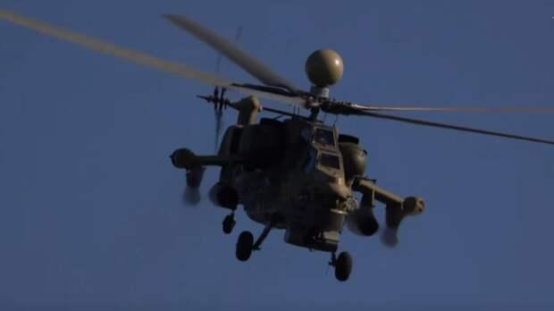 Вертолетчики ЗВО на учениях под Кингисеппом уничтожили «вражеский» аэродром
