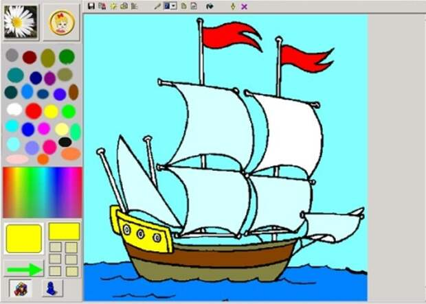 программа-раскраска для детей