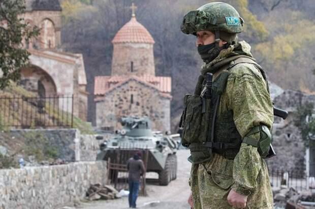 Разминировали 711 гектаров в НКР: российские миротворцы продолжают помогать