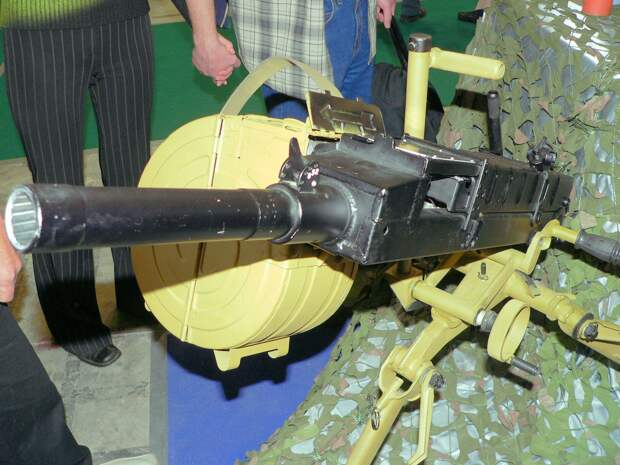 Станковый гранатомет АГС-30 – потомок первого в мире автоматического гранатомёта
