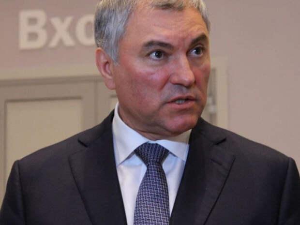 Спикер Госдумы Володин предложил ограничить анонимность в интернете