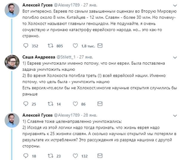 Депутат объяснила «разницу» между уничтожением нацистами славян и евреев