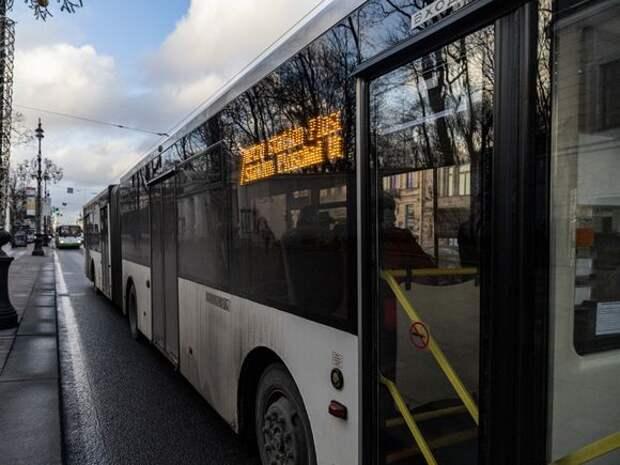 В петербургском транспорте ужесточат антиковидные меры
