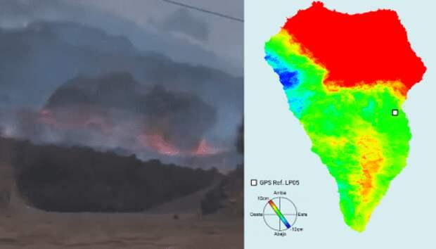 Извержение на Ла Пальма пошло по угрожающему сценарию