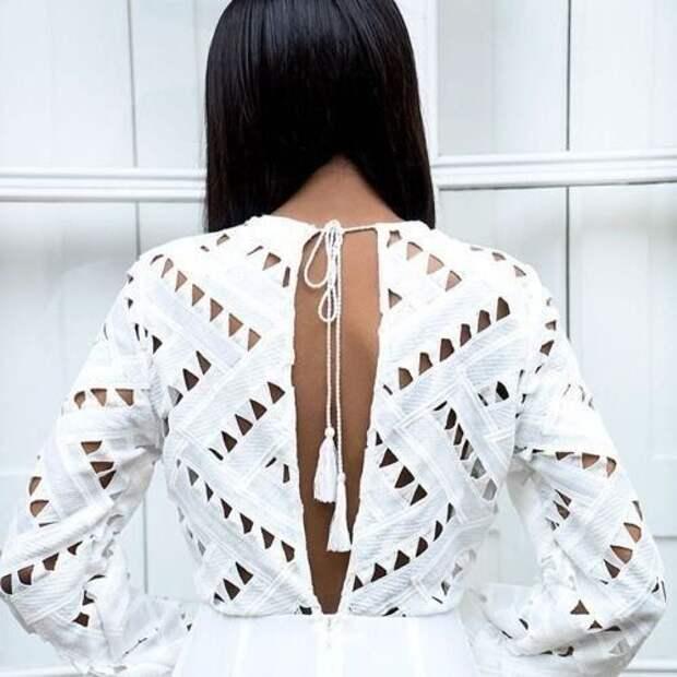 Очень красивая спинка