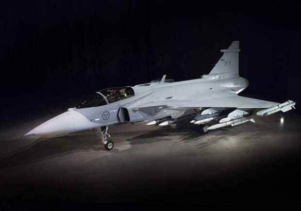 Новый шведский истребитель Saab JAS-39Е Gripen NG совершит свой первый полетом летом