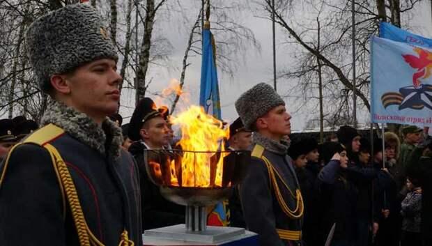 Делегация Подольска участвовала в перезахоронении 50 воинов на закрытии Вахты памяти‑2019