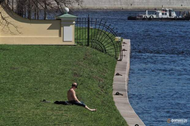 Ловите майское лето, оно скоро закончится. Петербургская погода идёт на новый рекорд