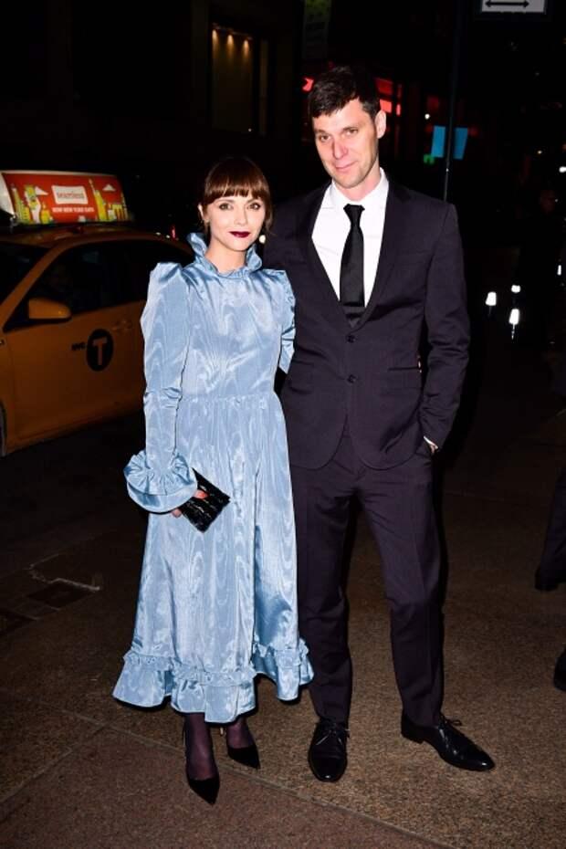 Кристина Риччи и ее супруг Джеймс