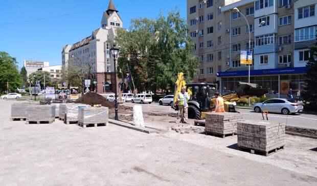Новая парковка возле дворца творчества вСтаврополе может стать платной