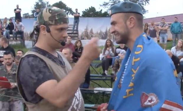 Солдат из ВДВ решил показать силу на ринге, но самоуверенность наказал боксер