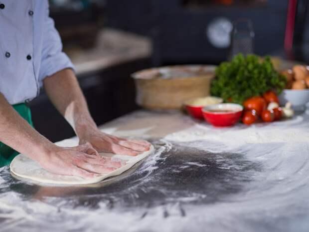 тесто для пиццы из итальянской муки