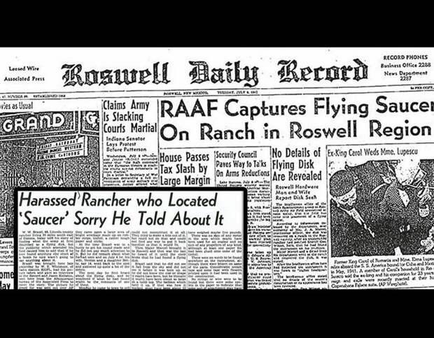 Розуэлл: новые косвенные доказательства