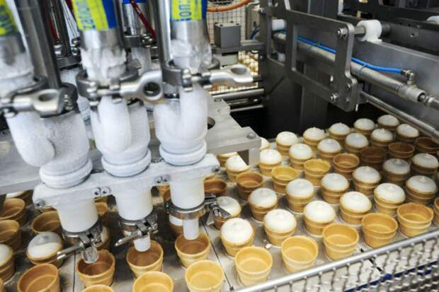 США почти вчетверо увеличили закупки российского мороженого
