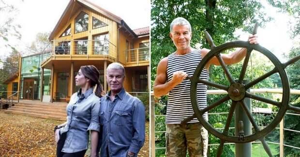 Art: Как Олег Газманов обустроил свой дом-корабль в Подмосковье, поместье в Италии и квартиру в Латвии