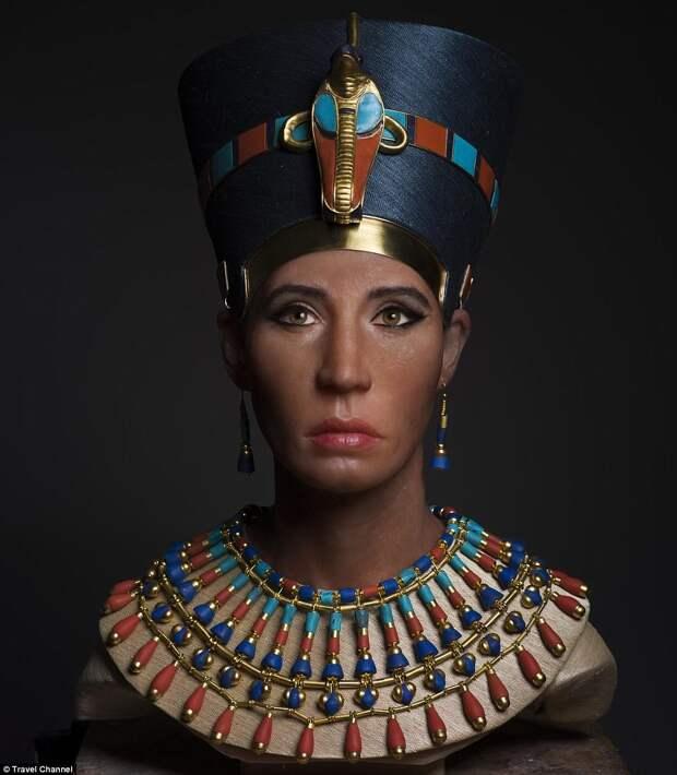 Ученые воссоздали лицо царицы Нефертити, и оно не очень похоже на знаменитый бюст