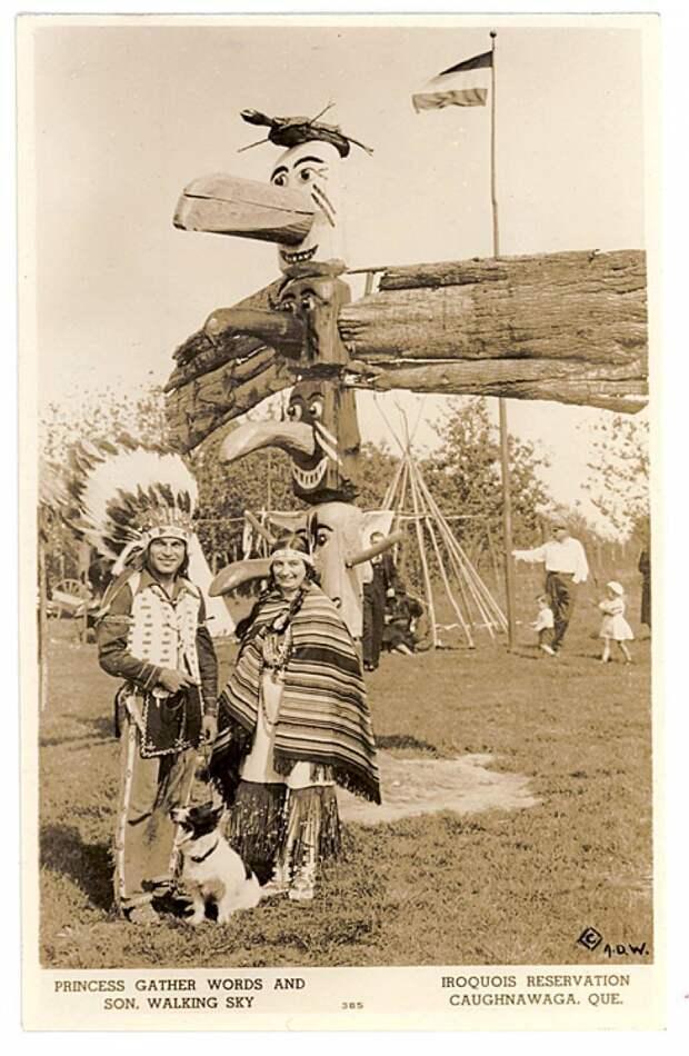 Как летчик СССР стал вождем индейского племени и сменил имя на Пронзающий Огонь