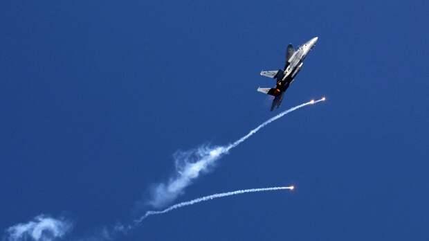 ВВС Израиля разрушили дом замглавы политбюро ХАМАС