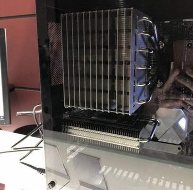 Noctua пообещала в скором времени выпустить огромный пассивный кулер для центральных процессоров