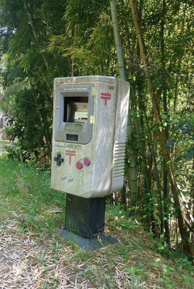 Даже почтовые ящики вЯпонии нуочень странные